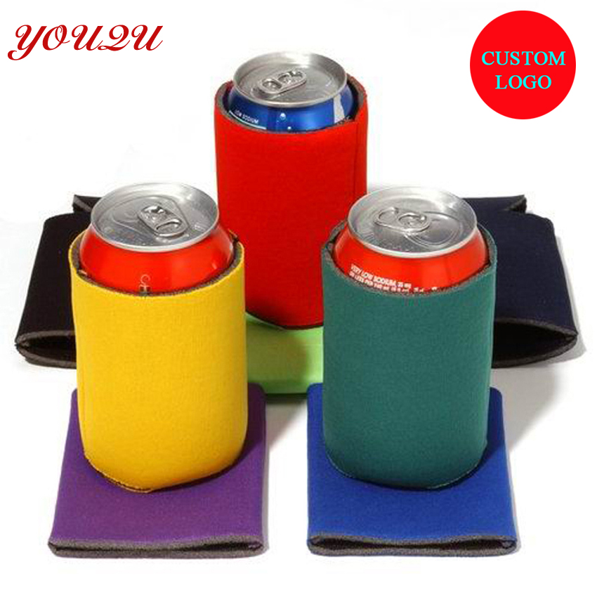 High quality Beer bottle Cooler with Logo Printing can beer cooler bag with logo printing lowest price free shipping