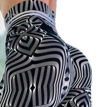2019 Summer styles Fashion Hot Women Leggings Digital Print Fitness Sexy 3D metal corrugated digital printing Shipping