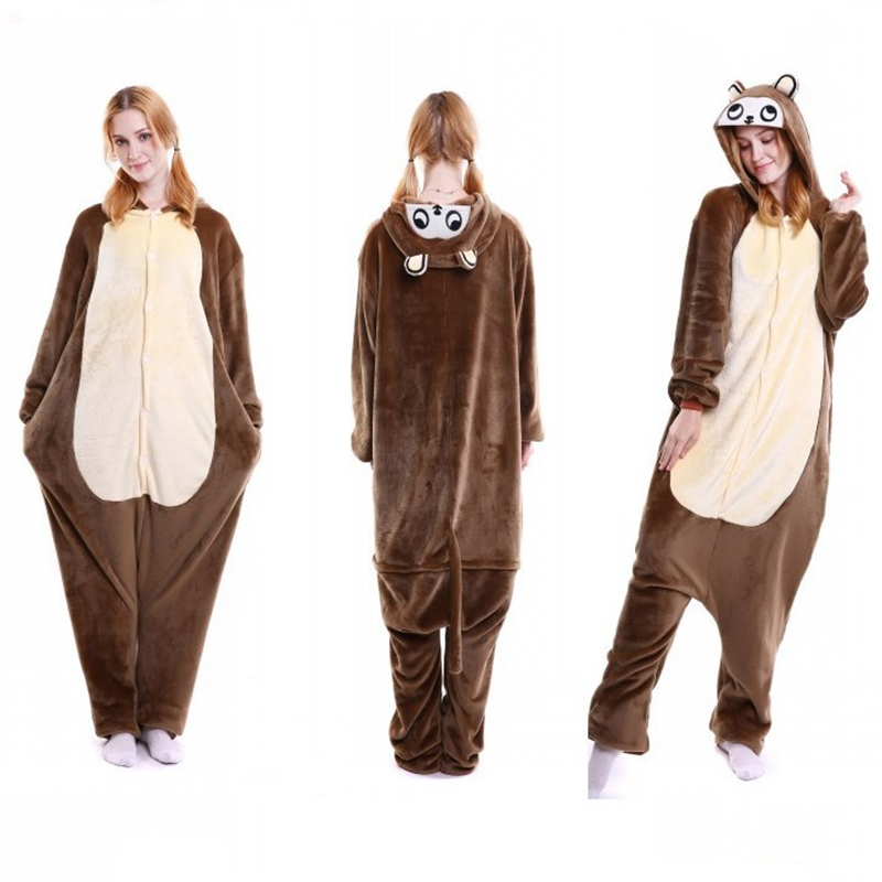 Special Price Womens Animal Monkey Cosplay Costume Pyjama Body Homme Cosplay Costume Men Sleep Lounge Onesies Onesie Kids