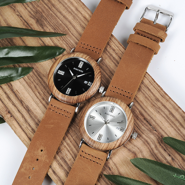 WO28 Newest Ladies Wooden Watch