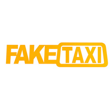 2pcs Fake taxi auto styling self sticking stickers imitating taxi stickers interesting vinyl window stickers