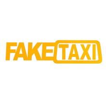Faux autocollants de taxi en vinyle, auto adhésif, étiquette de taxi, fenêtre, intéressant, 2 pièces