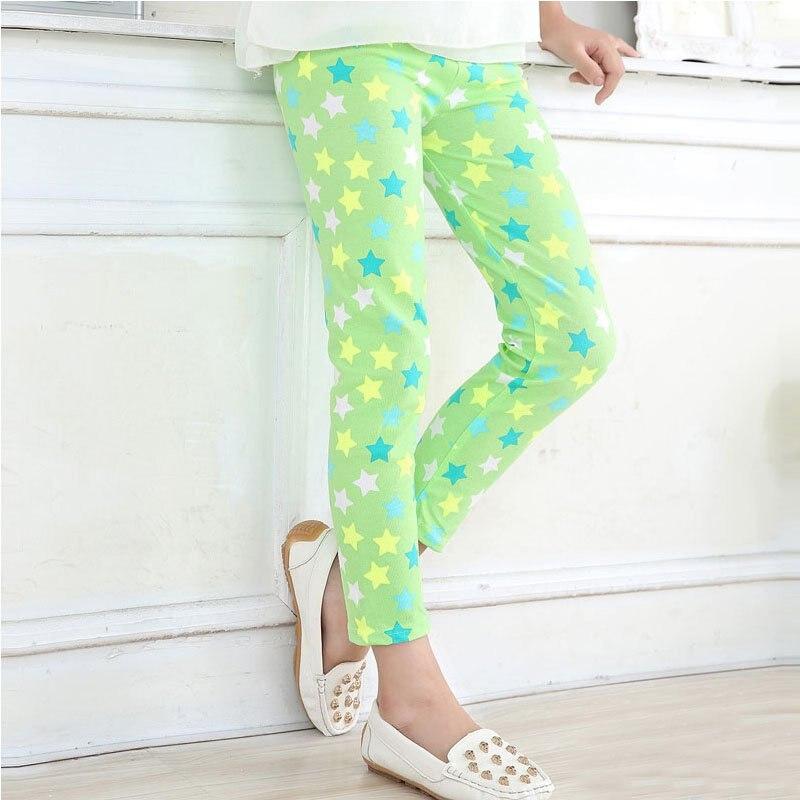 Hot-Sale-2-14-Years-Baby-Kids-Girls-Leggings-Pants-Flower-Floral-Printed-Elastic-Long-Trousers-Skinny-Pencil-Pants-6-Colors-4