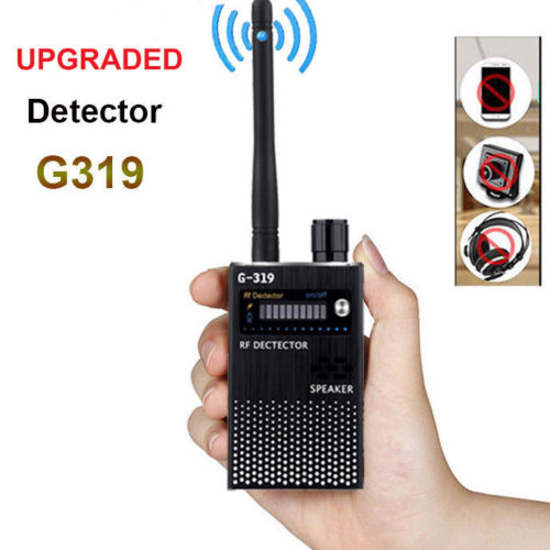 G319 Portable 1MHz-8000MHz Wireless Meter Counter Anti Mini Camera Scanner RF Signal Detector Finder WIFI finder 1 pcs full range multi function detectable rf lens detector wireless camera gps spy bug rf signal gsm device finder