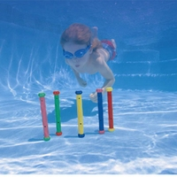 Child Swimming Practise Diving Stick Swimming Pool Toy 5pcs per set