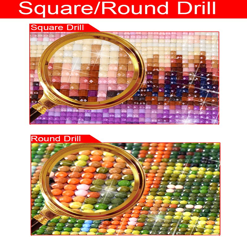 Full Square Drill 5D Diamond Painting Flower DIY Embroidery Kits Accessories Tool Cross Stitch Wall Decor in Diamond Painting Cross Stitch from Home Garden