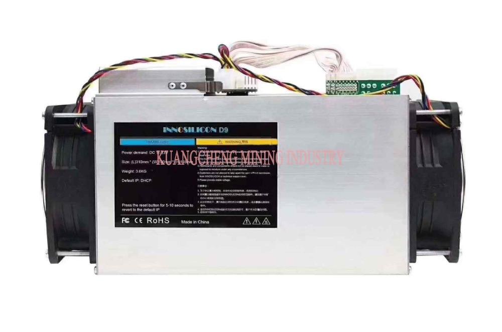 Blake256 DCR Asic Miner Decred Innosilicon D9 Miner 2.4TH/S 1000W FFMiner D18 340GH/S 160W  Miner  Power 750w 1800w