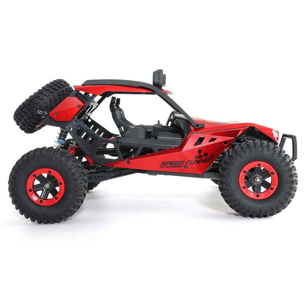 JJRC JJRC Q46 112 2.4G RC Car 4WD 45kmh High Speed Rock Crawler Desert Buggy Cars RTR for Kids Children Gifts RC Toys (10)