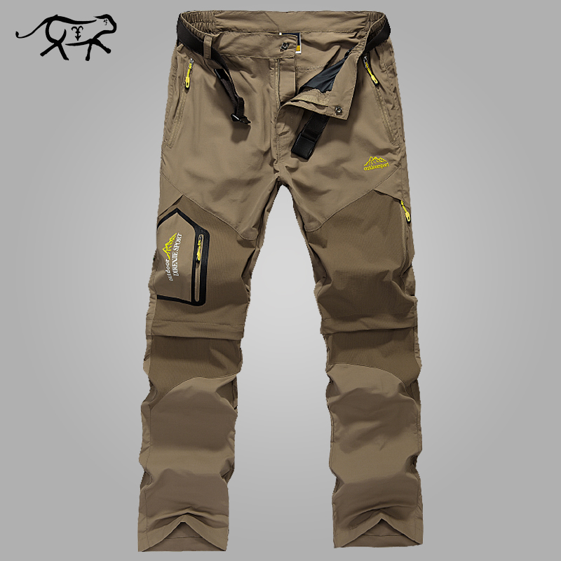 New 2018 Pants Men Quick Dry Men's Pants Summer Spring Fast Drying Military Casual Thin Cargo Pant for Male Long Trousers L-6XL