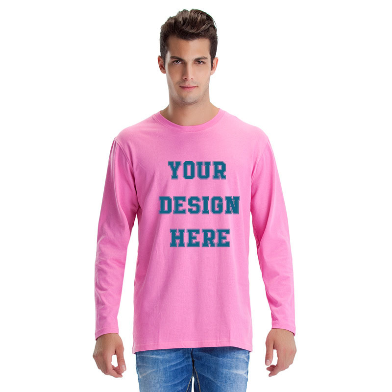 DIY T Shirt, White T Shirts for Men, Add Your Own Custom Text Name Personalized Message or Image Unisex T-Shirt