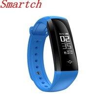 Smartch M2S Спорт SmartBand OLED крови Давление часы крови кислородом монитор сердечного ритма Смарт Браслет погоду езда режим