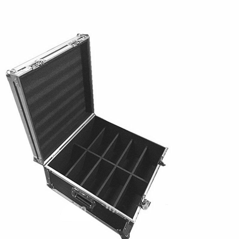 Flight Case for 10pcs 9X10W+30W Led Par Light with 7 channes for DJ Disco professional DJ equipmentFlight Case for 10pcs 9X10W+30W Led Par Light with 7 channes for DJ Disco professional DJ equipment