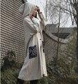 Мода Бренды Женщины Европейский Знаменитости Стиль Весна осень мастер дизайнерская Одежда с длинным винтаж женский Верхняя Одежда