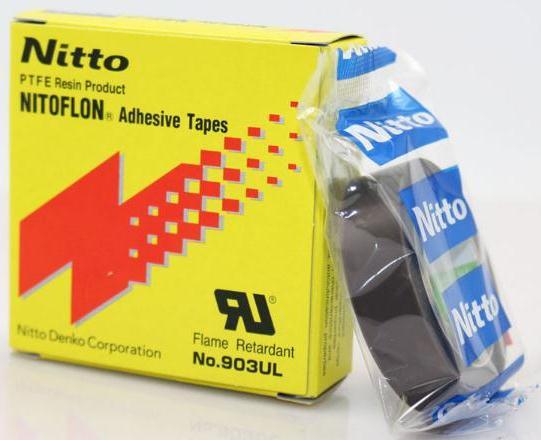 T0.08mm*W19mm*L10m Japan NITTO DENKO Tape NITOFLON Waterproof Single Sided Tape 903UL