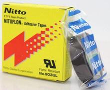 цены T0.08mm*W19mm*L10m Japan NITTO DENKO Tape NITOFLON Waterproof Single Sided Tape 903UL