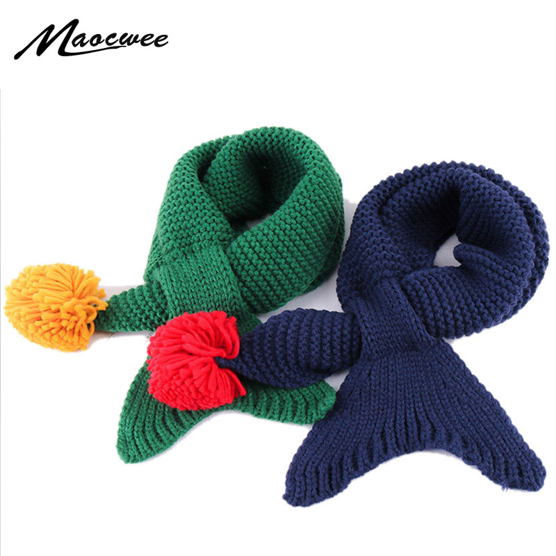 Official Website Useful Lovely Boy Girl Baby Winter Warm Color Scarf Knitting Wool Children Neck Warmer Solid Color Knitted Childrens Wool Scarf Low Price Boys' Baby Clothing