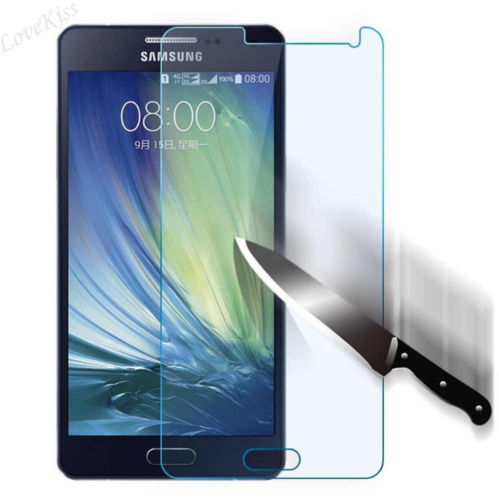 غشاء واقي للشاشة من الزجاج المُقسى لهاتف سامسونج جلاكسي جراند دووس i9082 S3 S6 J1 J3 J2 J5 Prime A3 A5 2017 G360 G355 G530