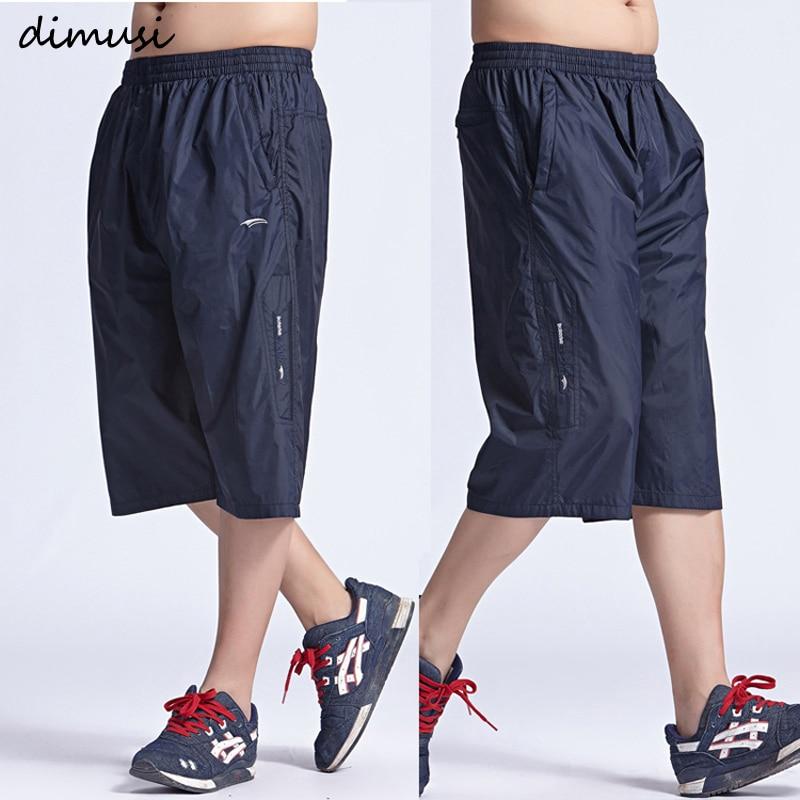 DIMUSI New Mens Shorts Summer Quick Drying Shorts Male Casual Elastic Waist Men Shorts Boardshort Bermuda Masculina 6XL,YA570