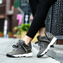 Frauen schuhe 2017 zapatos mujer casual plattform höhe Zunehmende schuhe mode schuhe frauen damen fuß größe Marke verkäufe 0128 Watt