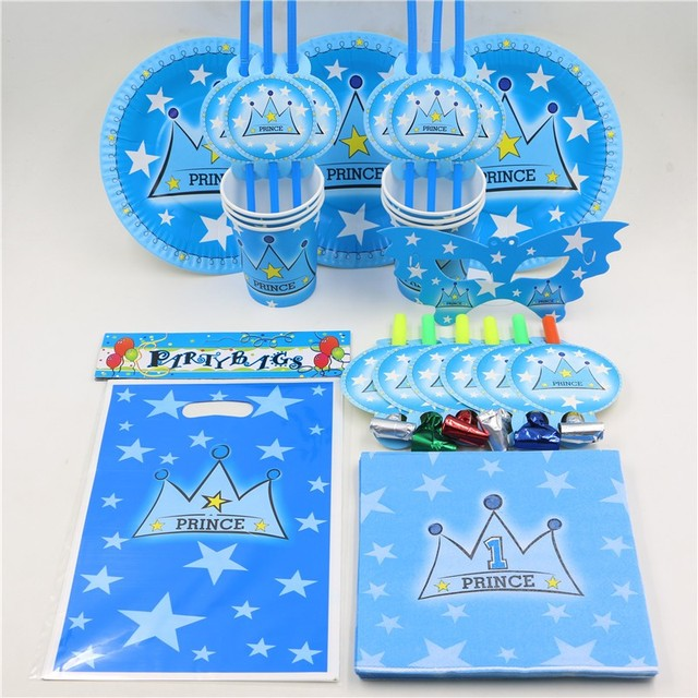 81pcslot Birthday Party Paper Napkins Plates Kids Favors Cups