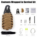 Survival Portable Kit Set Multifunctional climbing climbing emergency rescue tool box survival equipment