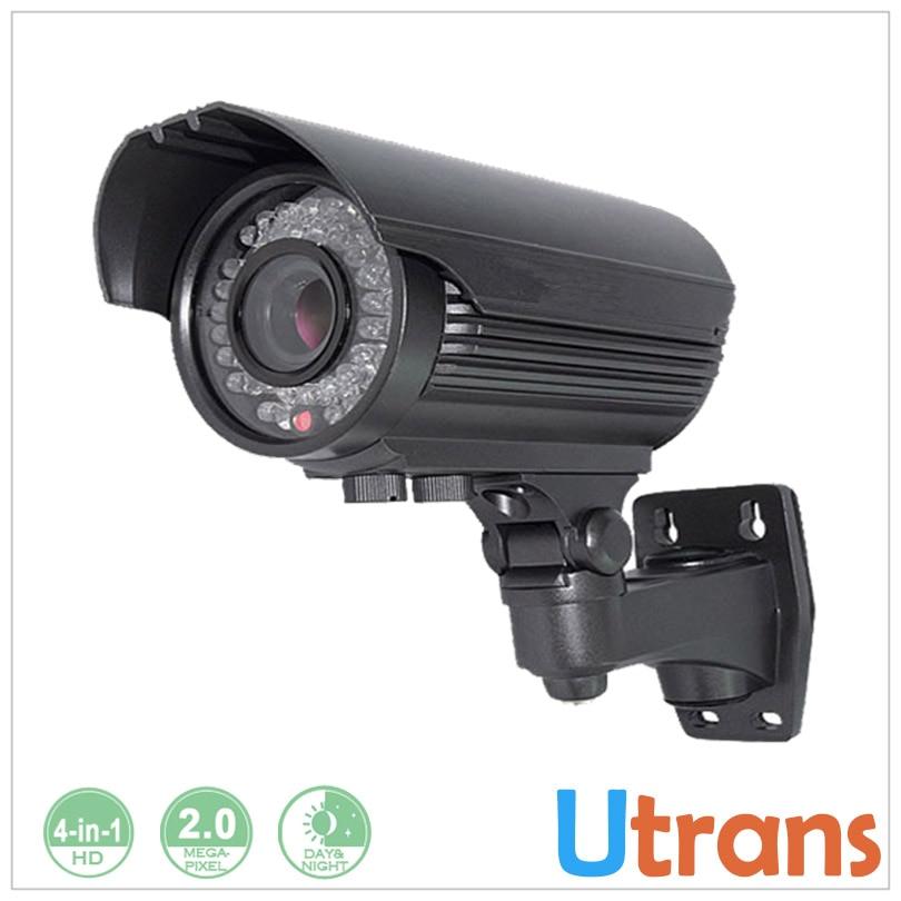 ФОТО Security Camera 4 In 1 1080P AHD TVI CVI 2 Megapixel 2.8-12mm Lens 30m IR IP66 Waterproof IR CCTV Camera HD