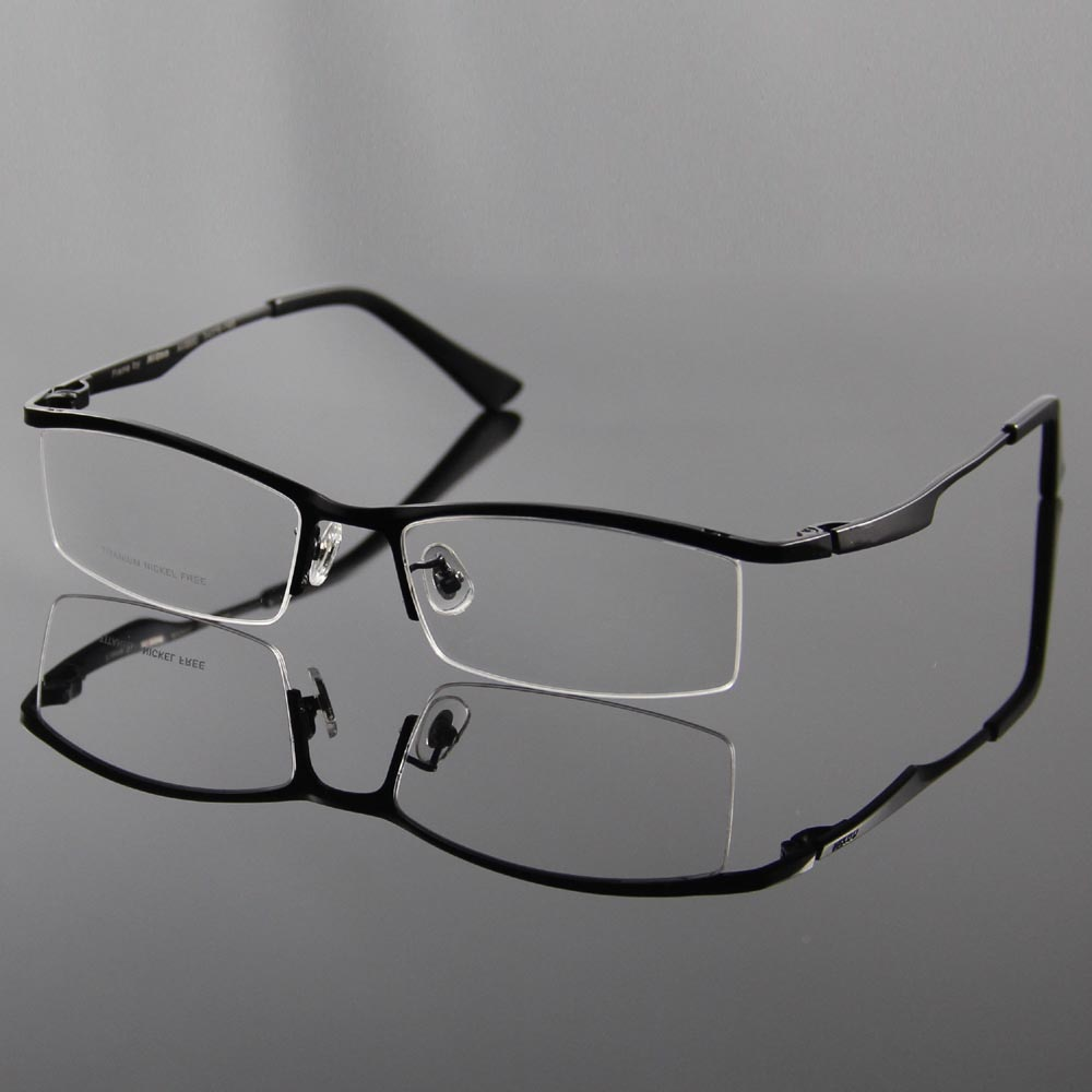 What Are Half Frame Glasses Called : Aliexpress.com : Buy Optical Glasses Frames 100% Titanium ...