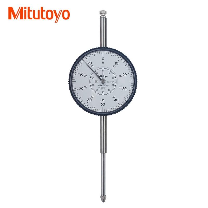 100 Original Japan Mitutoyo 3058S 19 Dial Indicator 0 50mm Micrometer Dial Test Gauge Measuring Tools