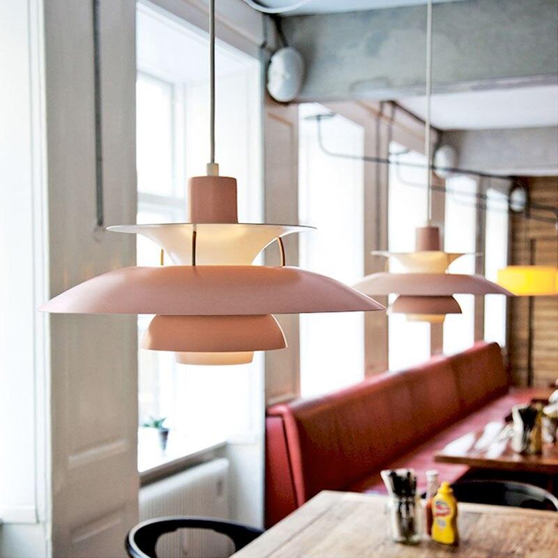 PH5 pendentif LED lampe cuisine salle à manger Restaurant suspension luminaire intérieur décor à la maison E27 ampoule ph5 luminaires suspendus