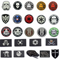 Military patches Star Wars Coffee patch 3D PVC or Embroidered Tactical patch Badges for clothes bags with Hook & Loop