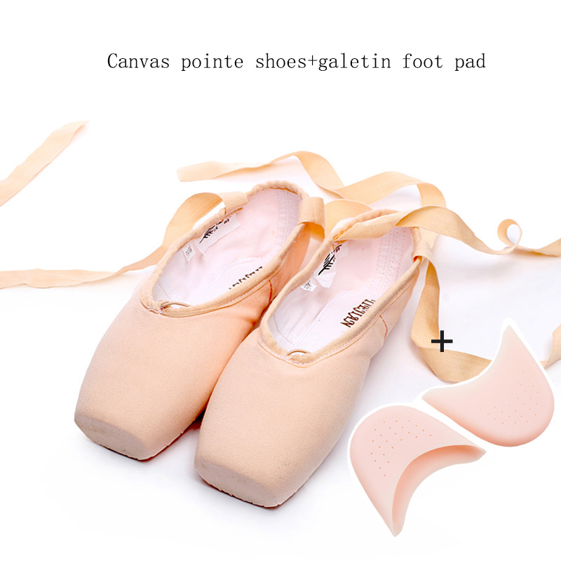 Free shipping flat bottomed children 39 s strap beginner 39 s daily dance training shoes retro professional adult ballet pointe shoes