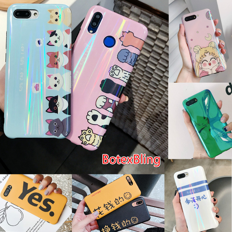 Cellphones & Telecommunications Bright Cute Cartoon Cat Claw Girl Moon Couple Case For Huawei Mate20 Pro Mate20x P20 Pro For Honor 10 Mate10 Nova 3 3i 2s Nova3 Cover Phone Bags & Cases