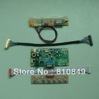 LCD controller board with VGA input signal work for 14.1inch~17inch lcd display