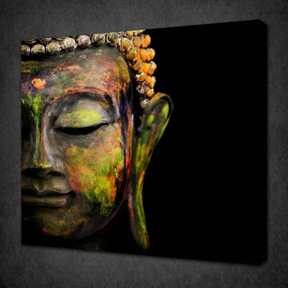 new 2017 buddhism oil painting buddha canvas art 24x36