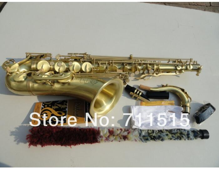France Selmer Sax Tenor Saxophone Eb Be E Flat Brass Carved Instrument 54 Bronze Tenor Saxofone with Mothpiece Clean Cloth Brush selmer of france b flat tenor sax instruments shipping professional performance suitable for beginners