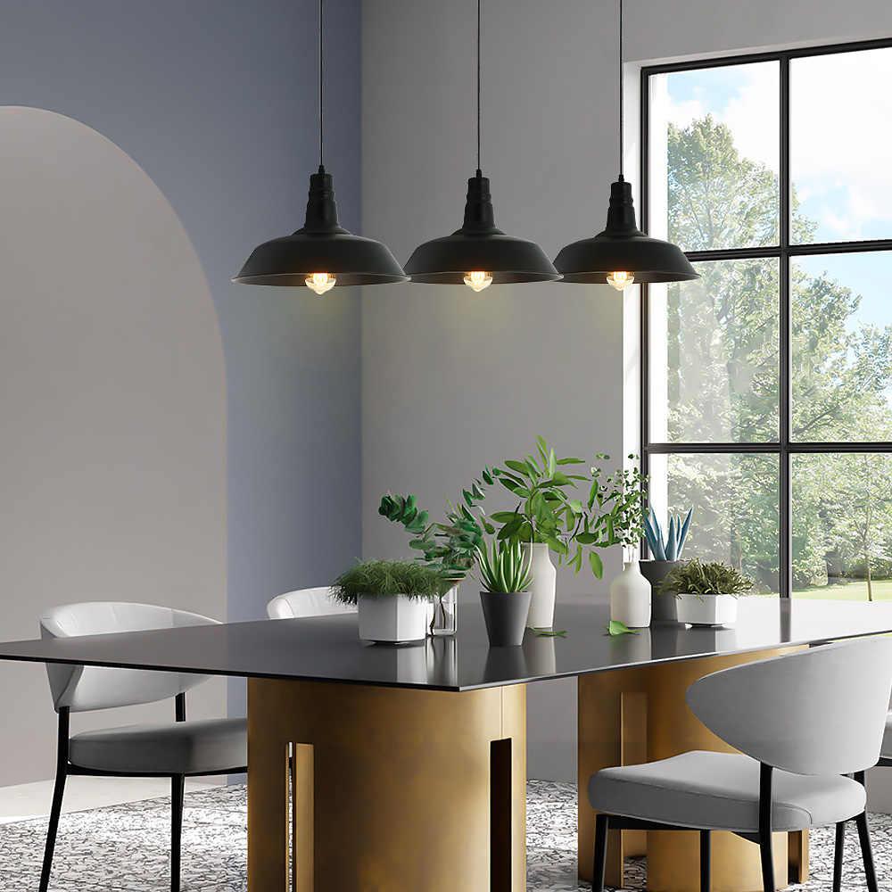 Oreab винтажная потолочная подвесная металлическая люстра Led Ретро подвесные люстры столовая освещение для продажи E26/E27