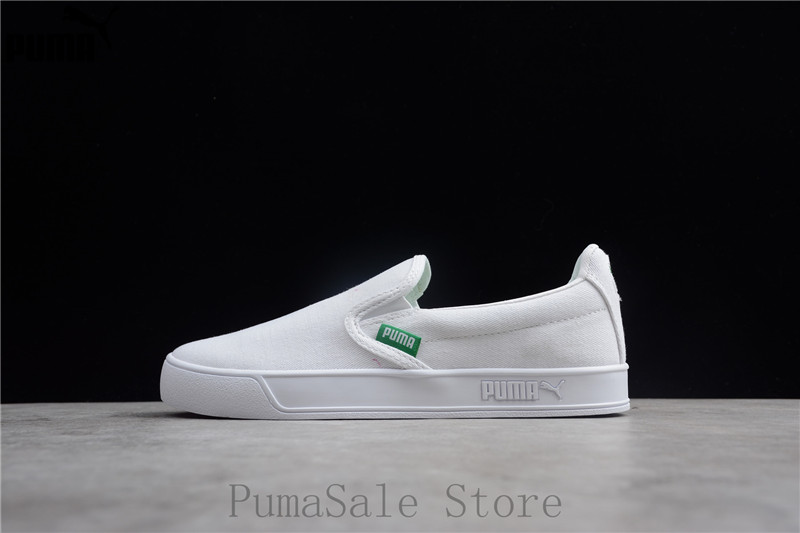 Original PUMA Smash Vulc Slip on K Men And Women Shoes 367617 02 ... 5580bba43