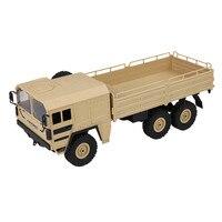 JJR/C JJRC Q64 1/16 2.4G 6WD Rc Car Military Truck Off road Rock Crawler RTR Toy 6 Wheels Racing Green Yellow Christmas Gifts