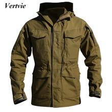 Vertvie Sport En Plein Air Tactique Militaire Veste Hommes Multi Pocket Hommes Vestes Camping Randonnée Remise En Forme Chasse Vêtements Sportwear