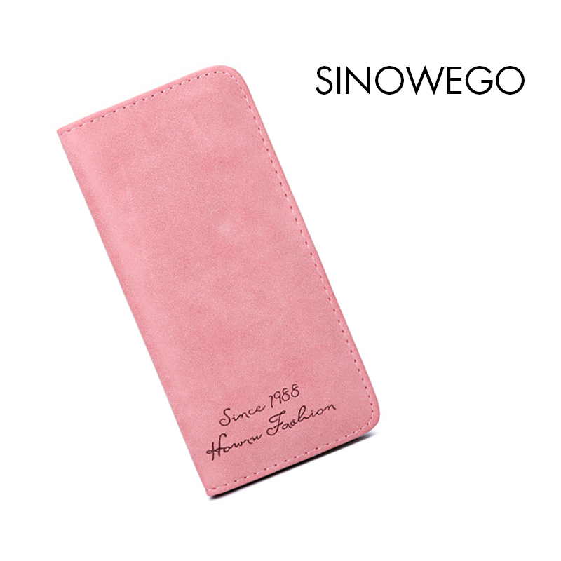 Fashion Luxury Brand Women Wallets Letter Leather Wallet Female Vintage Coin Purse Wallet Women Matte Wristlet Money Bag Small new fashion luxury brand women wallets plaid leather wallet female card holder coin purse wallet women wristlet money bag small