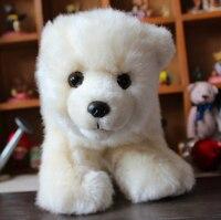 Polar Bear Plush Toys Simulation Animal Cute Doll Christmas Gift