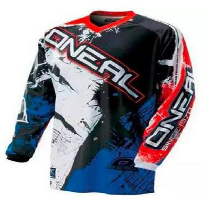 2018 moto newest new O'Neal Enduro Jeresy Downhill Jersey cycling Offroad Motorcycle Motocross Racing Riding Cycling Jersey lon