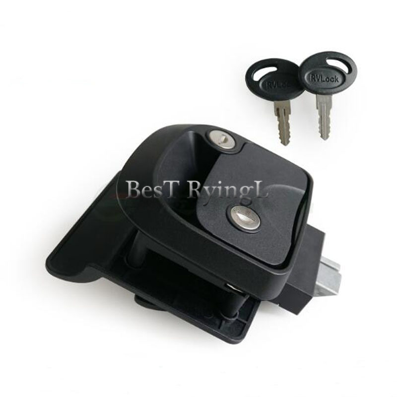 Rv Parts & Accessories * Push Lock Button Door Knob Rv Cabinet Drawer Camper Caravan Motor Home Cupboard Cabinet Drawer Push Latch Good For Antipyretic And Throat Soother Atv,rv,boat & Other Vehicle