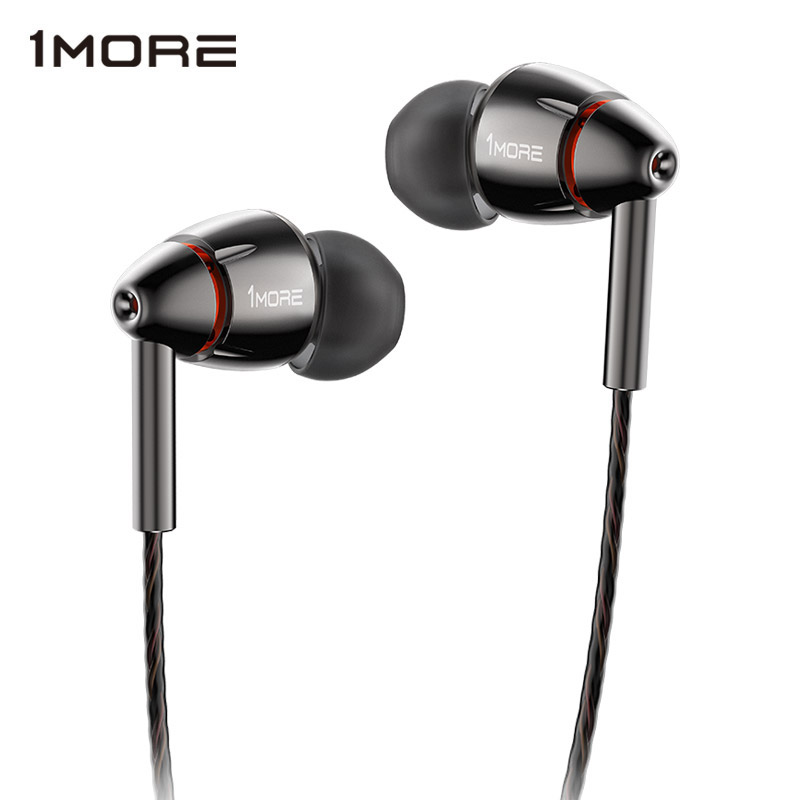 Buy 1MORE Quad Driver In-Ear Earphone with Mic 1 more quad E1010 HiFI Hi-Res Earbuds Earphones Headset for Apple Android Xiaomi for $199.99 in AliExpress store