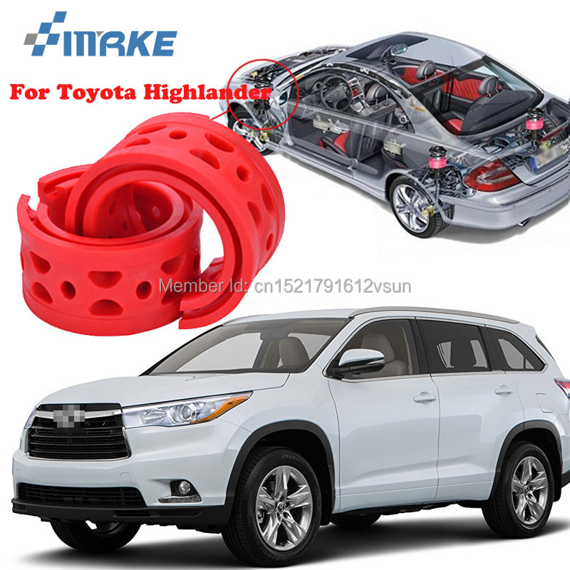 smRKE For Toyota Highlander High-quality Front /Rear Car Auto Shock Absorber Spring Bumper Power Cushion Buffer