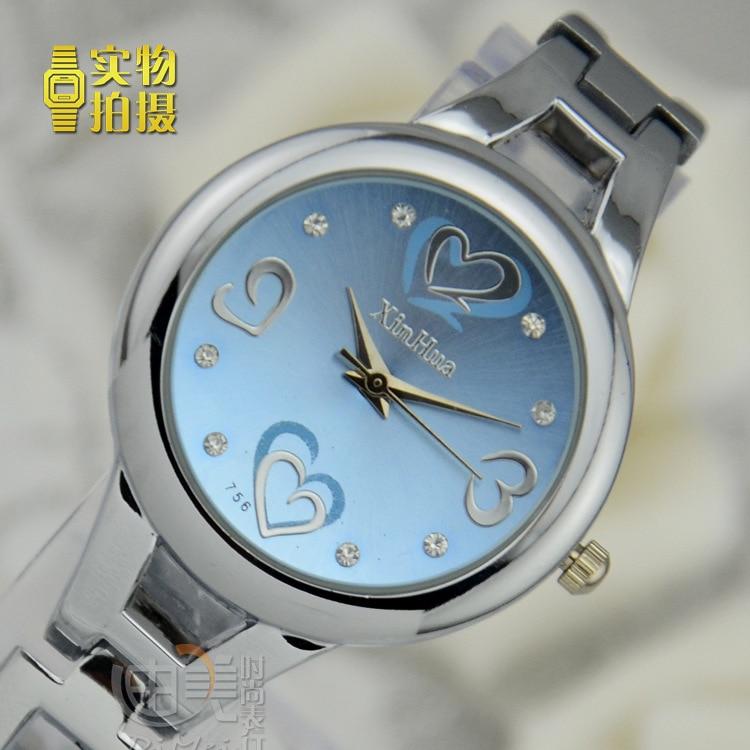 Fashion Brand Cuff Bracelet Watch Hot Sell Silvery Ro