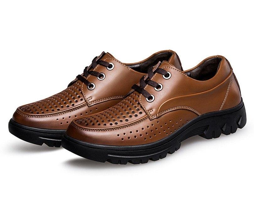 up Occasionnels Luxe Marque Trou Cyabmoz Respirant 50 Brown 47 Taille Grande Chaussures D'été Zapatos Hombre Mode Hommes 2018 De Creux 48 black Dentelle 46 49 wvYI5qq