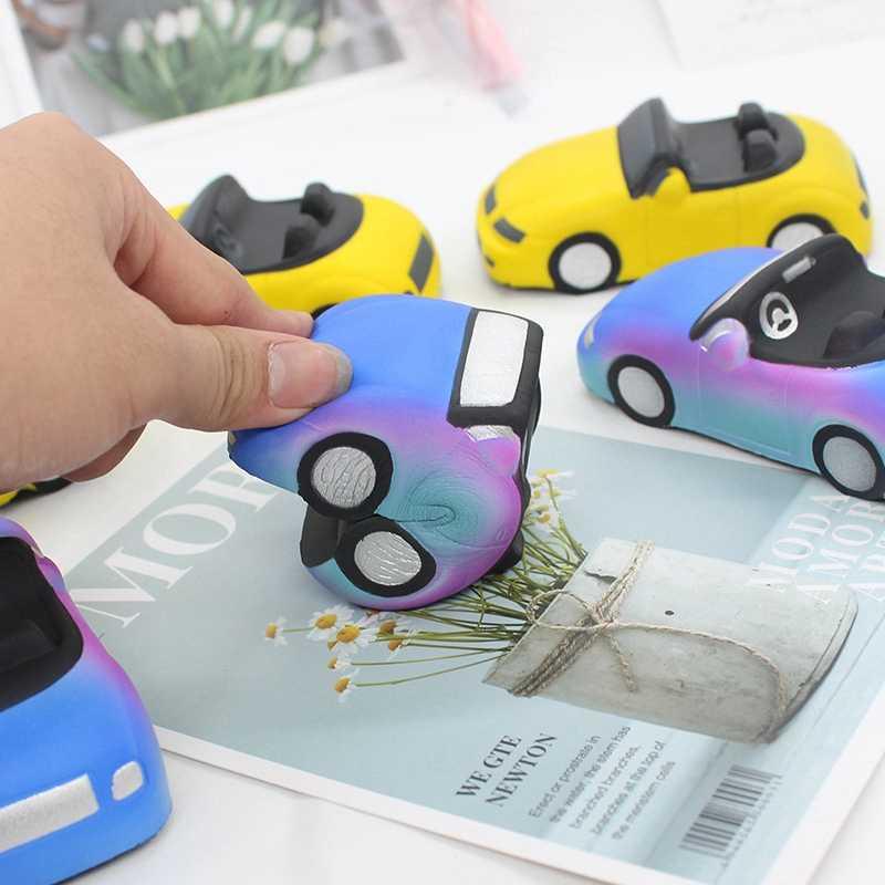Сжимаемый медленно поднимающийся Jumbo снятие стресса Антистресс имитация спортивных автомобилей затычки практическое украшение шутки игрушки Детские мягки