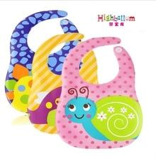Newest Unisex Kids Baby Bibs Burp Cloths Lunch Bibs Animals Cartoon Pattern Saliva Towel Waterproof Bibs Waterproof Baby Bib