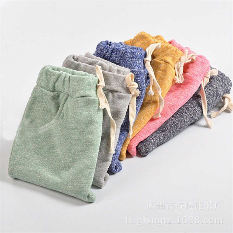 Children HappySky Store Spring Summer Baby Boys Girls Harem Pants Kids Clothes Ropa Trousers Cotton Elastic Pants Infantil Bottom Children Clothing